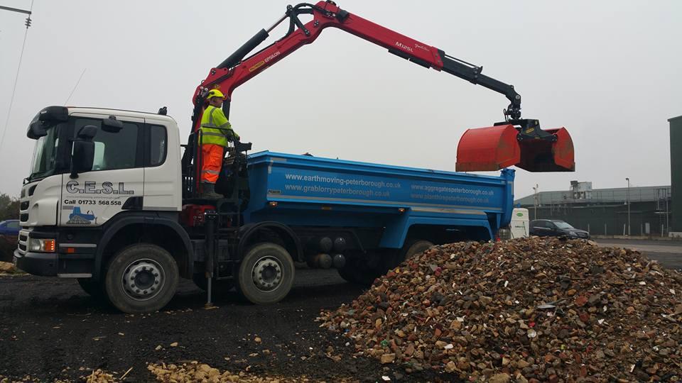 Grab Lorry Hire In Peterborough