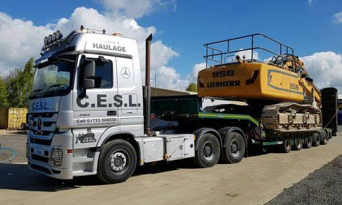 Heavy Haulage Equipment Peterborough