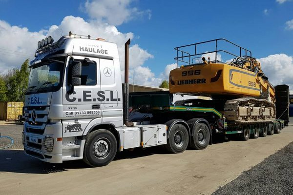 Heavy Haulage Equipment Peterborough