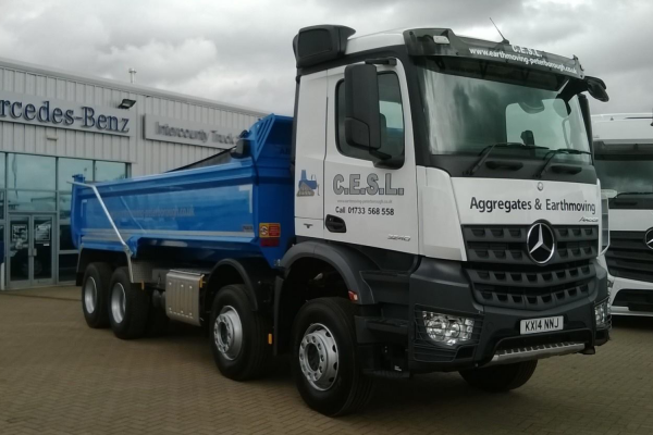 Aggregates & Eartmoving Services Peterborough