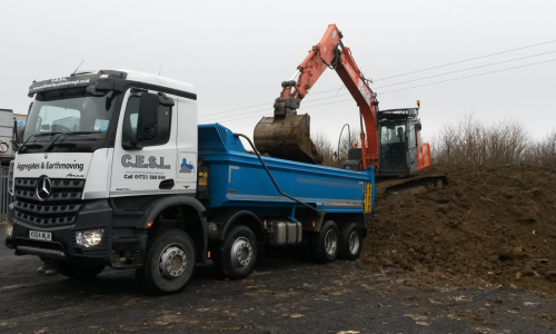 TIpper Lorry - Aggregates C.E.S.L