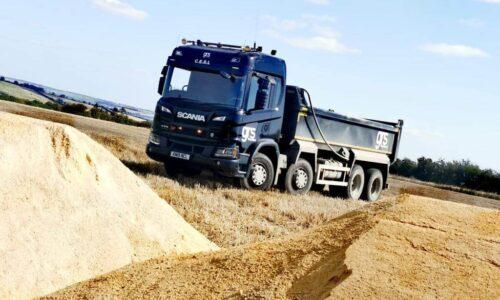 C.E.S.L. Tipper Lorry