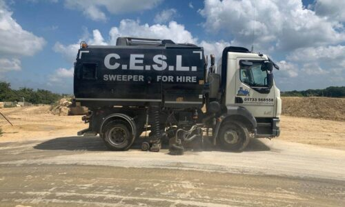 C.E.S.L. Sweeper for hire