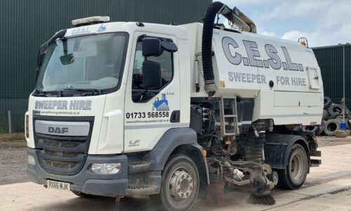 Road Sweeper for hire C.E.S.L.